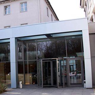 Der Eingangsbereich der IHK in Regensburg