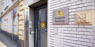 Eingangsbereich des Sozialgerichts Regensburg