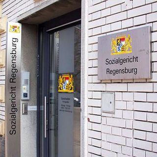 Eingang des Sozialgerichts Regensburg