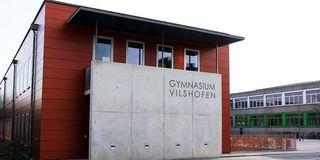 Außenansicht des Gymnasiums in Vilshofen
