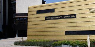 Außenansicht des Gymnasiums in Landshut